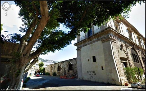 Via Cristoforo Colombo, Palermo, Sicily, Italy