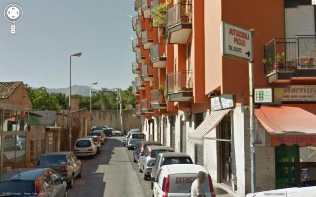 Via Giuseppe Pitrè  Via Palchetto, Palermo, Sicily, Italy
