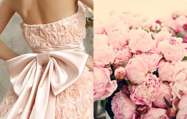 rochie bujori roz-tile